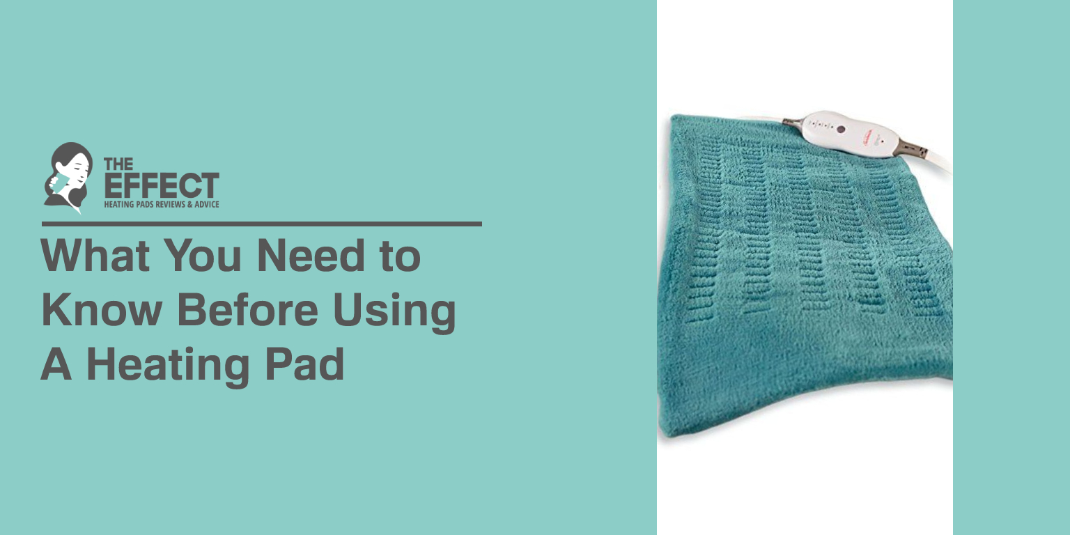 What You Need to Know Before Using a Heating Pad