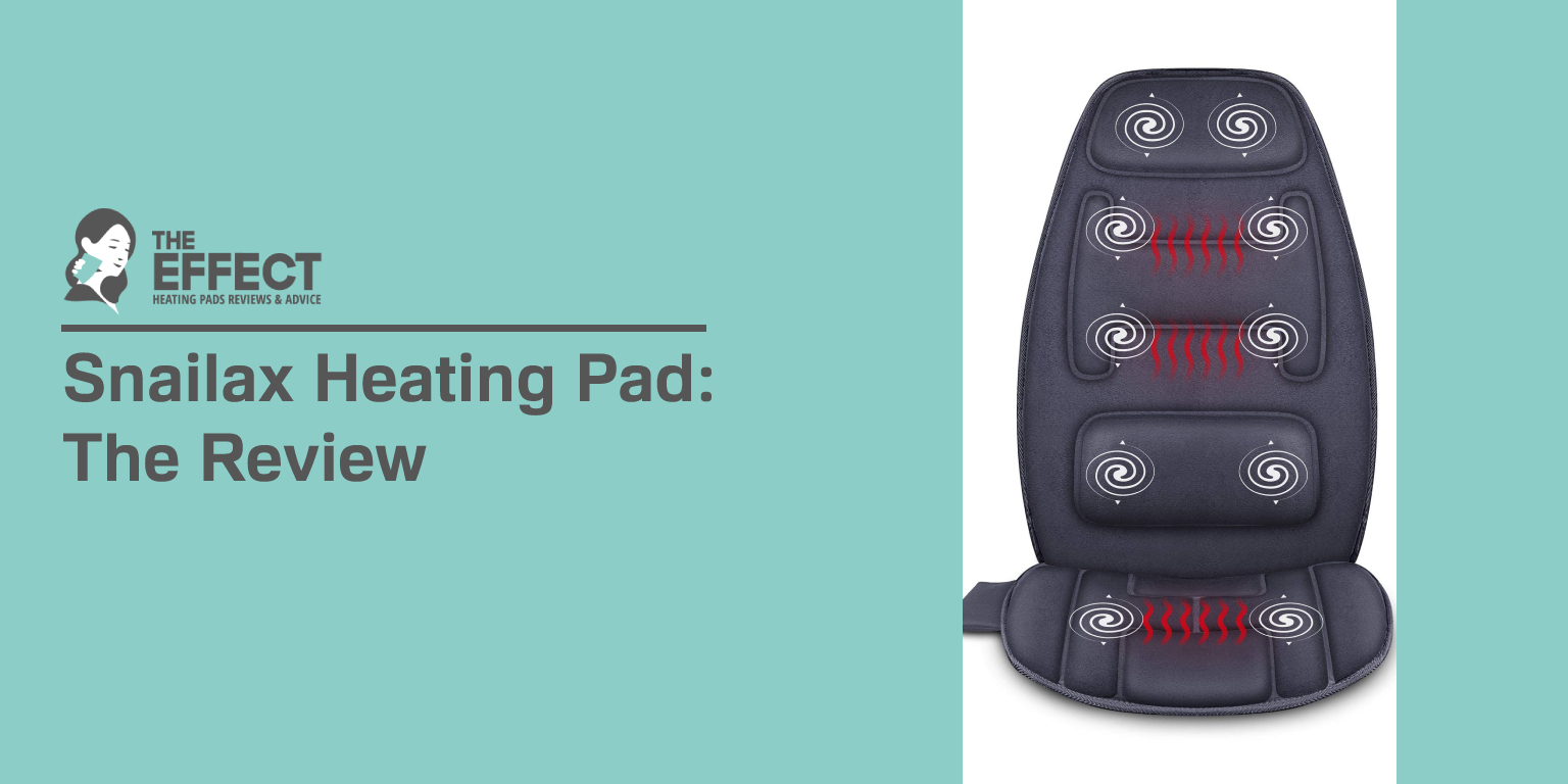 Snailax Heating Pad The Review