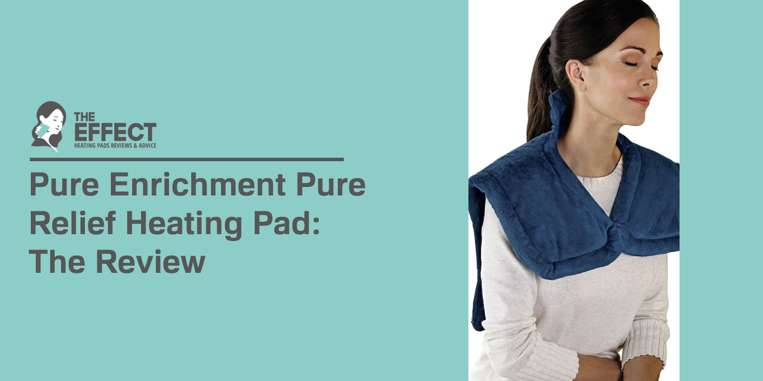 Pure Enrichment Pure Relief Heating Pad The Review