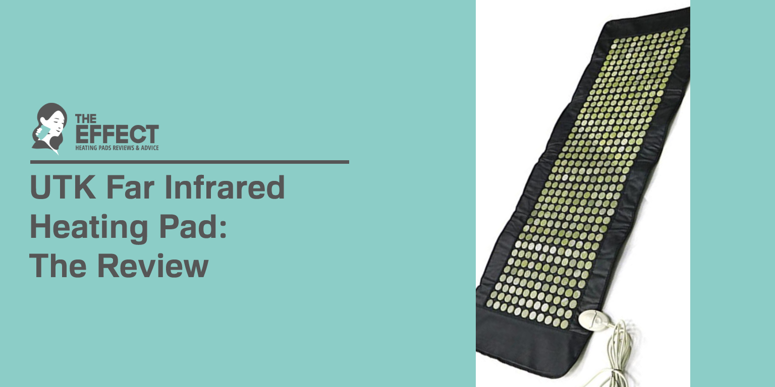 UTK Far Infrared Heating Pad The Review