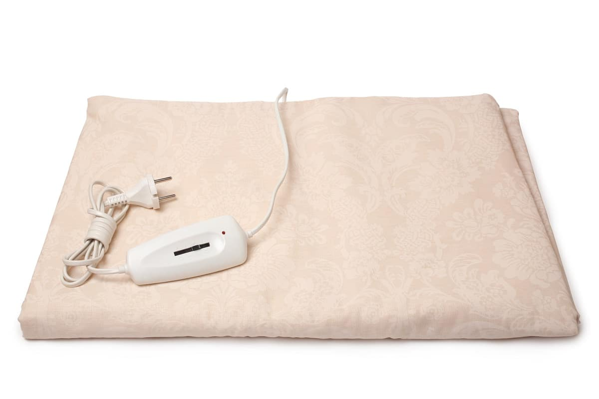 Brown electric blanket