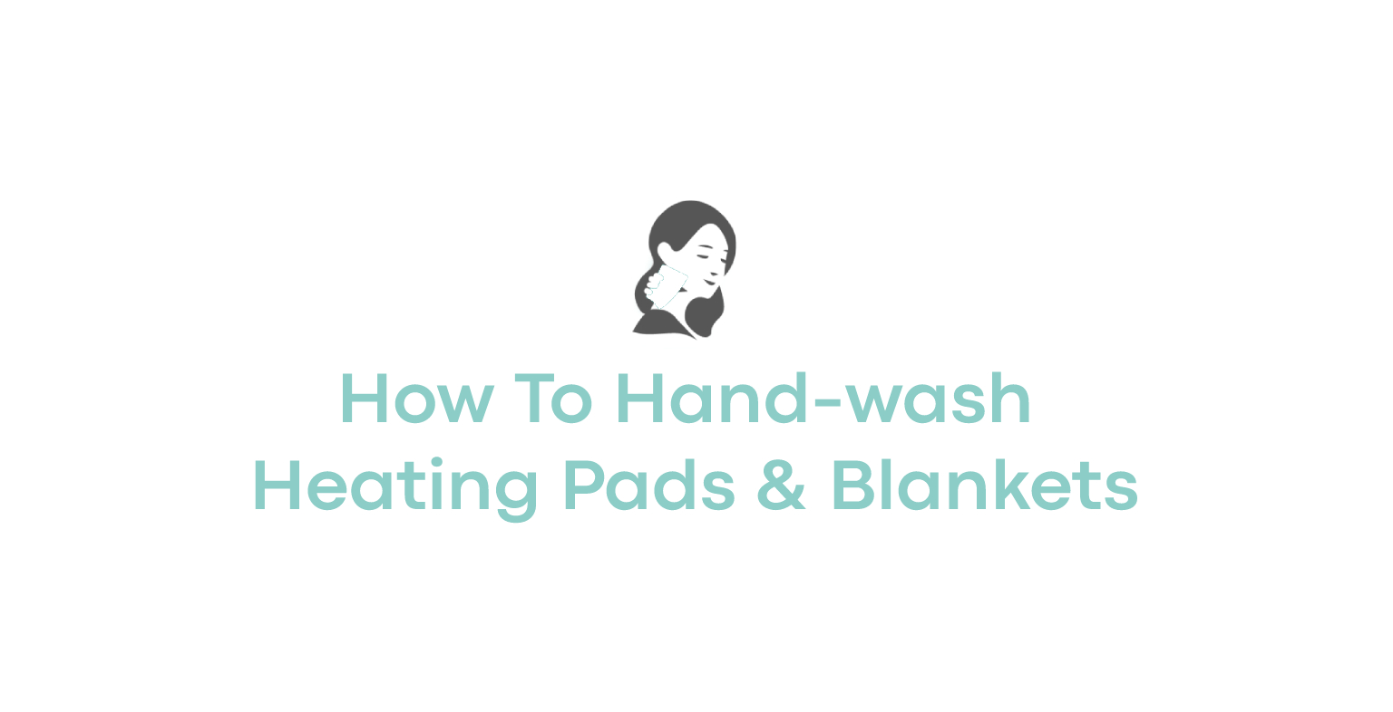 How To Hand-wash Heating Pads & Blankets