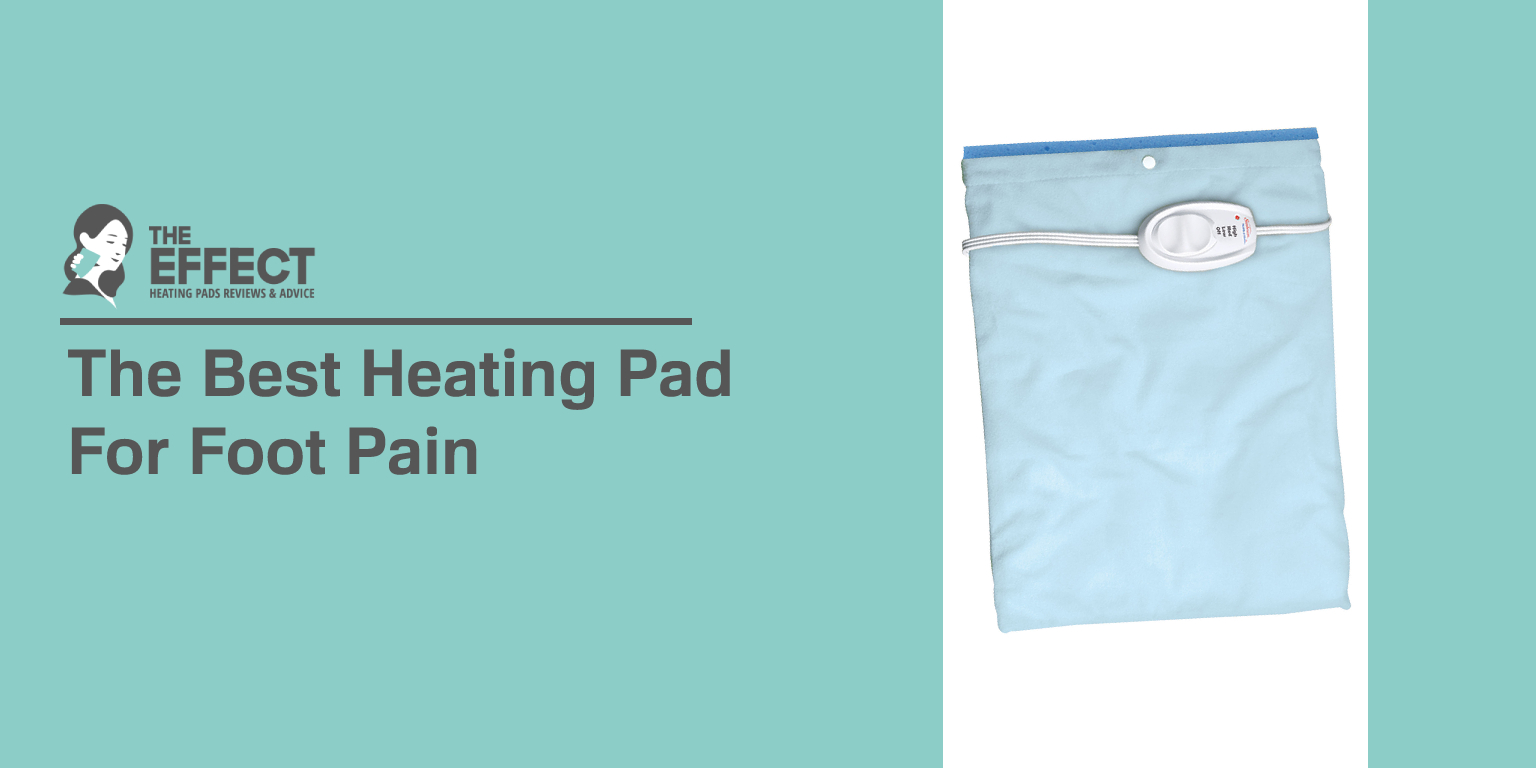 The Best Heating Pad for Foot Pain